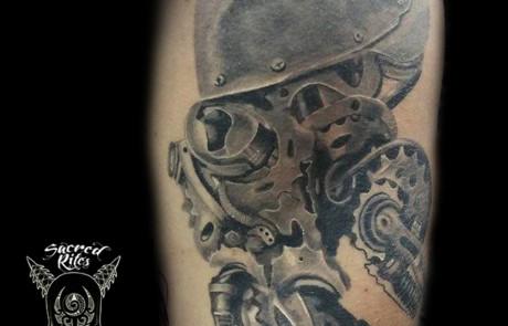 Mechanical Animal Tattoo
