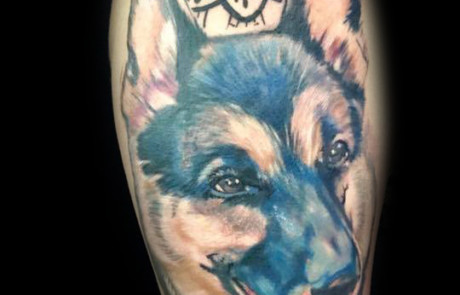 Animal Portrait Tattoo